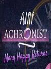 Ann Achronist: Many Happy Returns